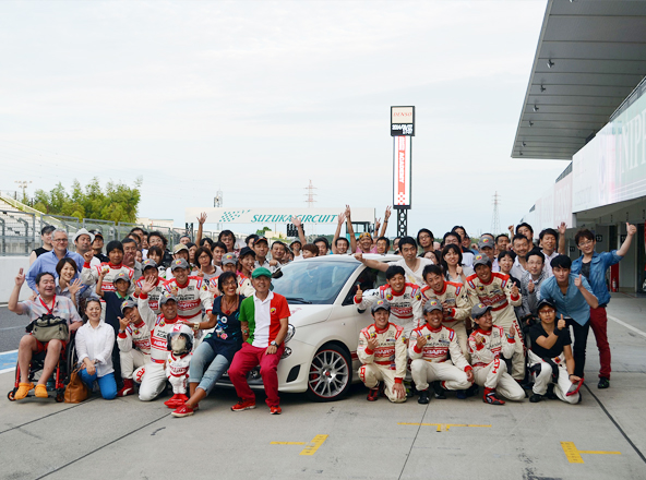 アバルト・ドライビング・アカデミー2014@鈴鹿サーキット