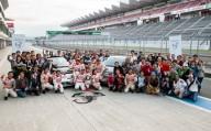 今年初のABARTH DRIVING ACADEMY開催。富士スピードウェイに過去最大のABARTHオーナーが集結!