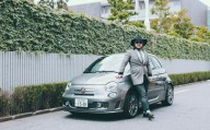 """日本を代表するJAZZバンド、SOIL&""""PIMP""""SESSIONSの社長がABARTHのカスタマイズ・プログラム<MAKE YOUR SCORPION>にトライ。"""