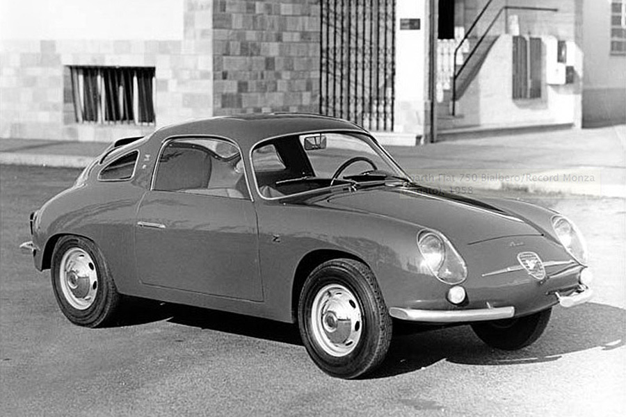 1958 FIAT ABARTH 750 RECORD MONZA ZAGATO アバルトの歴史を刻んだモデル No.008