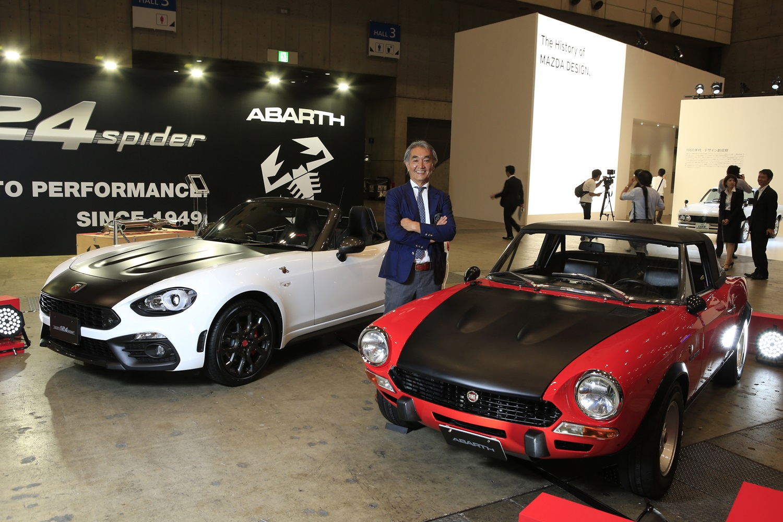 株式会社カーグラフィック代表取締役社長 加藤哲也氏が語る『ABARTH 124 spider』への期待