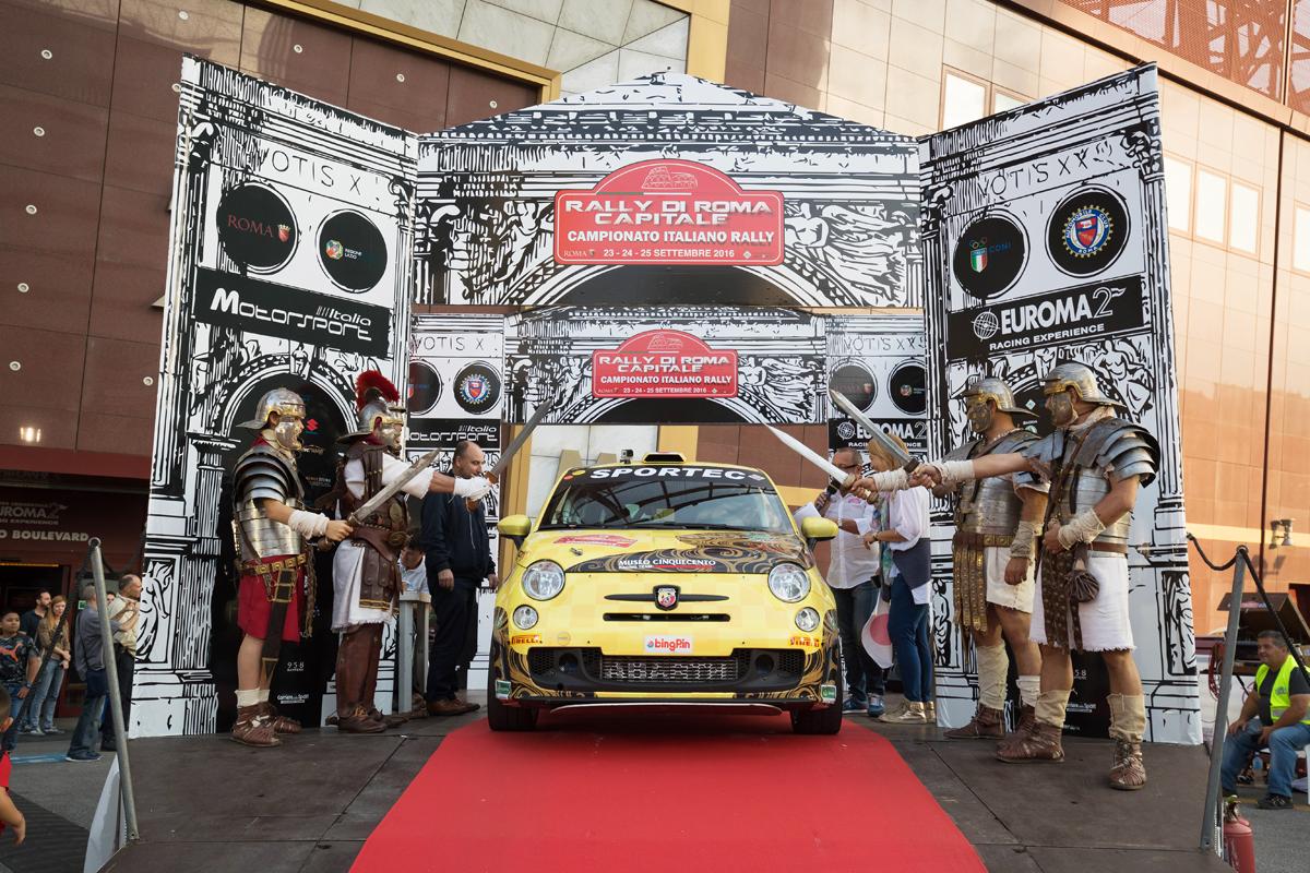 ムゼオ チンクエチェント レーシング チームがローマ ラリーに参戦