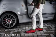 素材と履き心地への探究心が生み出す革新的なドライビングシューズ「NEGRONI」
