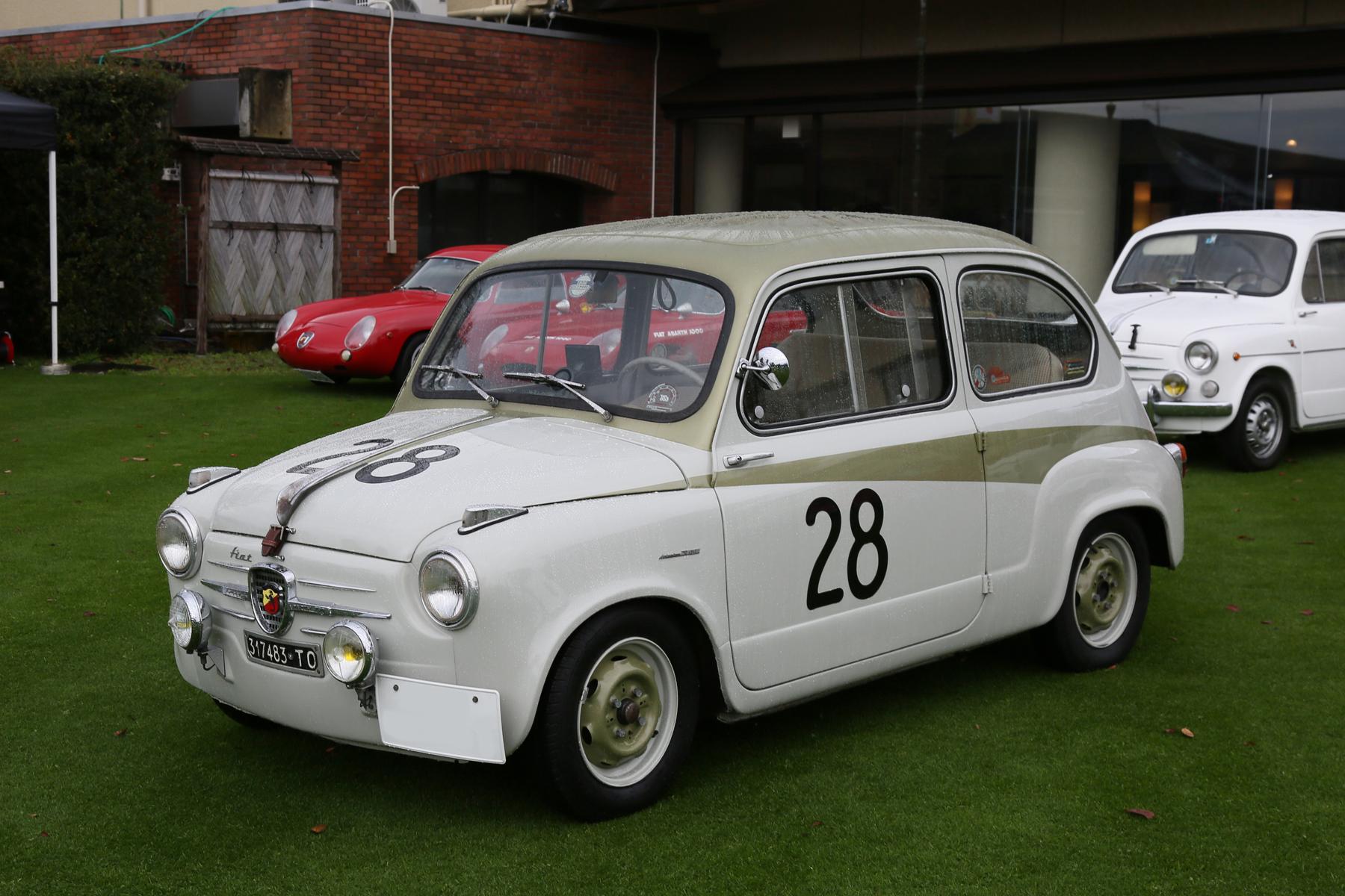 1956 FIAT ABARTH 750 DELIVAZIONE|アバルトの歴史を刻んだモデル No.013