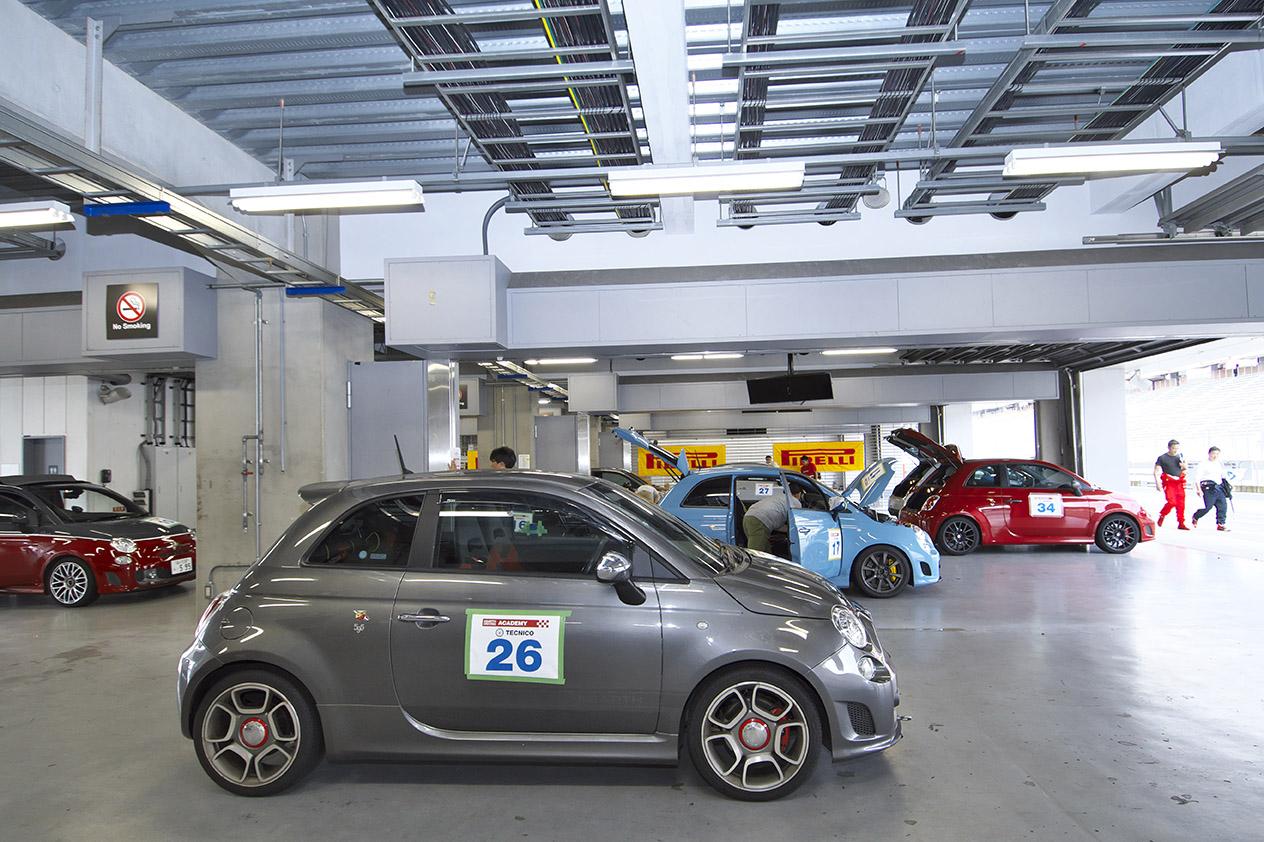 サソリの刺激をもっと深く。アバルト ドライビング アカデミー2017開催概要