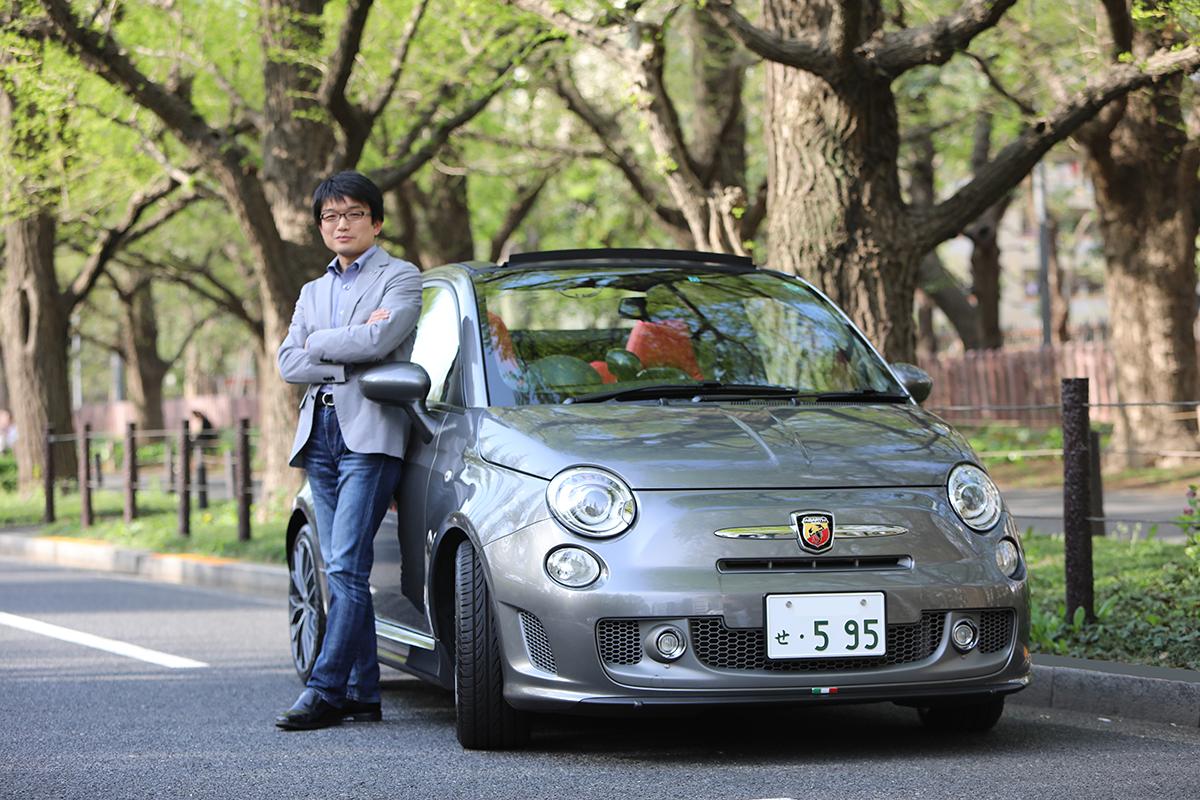 「運転中はもちろん、仕事や生活までもが変化」アバルト595Cツーリズモオーナーインタビュー