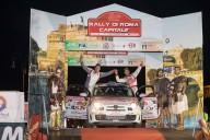 アバルト500ラリーR3Tを駆る眞貝知志選手、ローマ・ラリーで勝利!