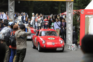 アバルト初の量産GT「フィアット・アバルト750GTザガート」が出走  ラ フェスタ ミッレミリア2018