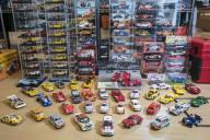 魅せられて20年、所有車数は数切れず…… アバルトオーナー寺井さんのスロットカーコレクション