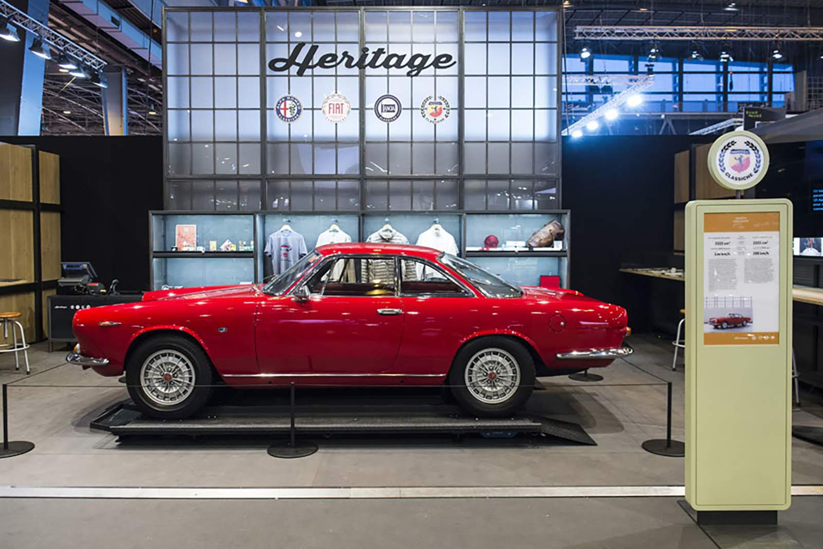 Heritage booth - retromobile Show - Paris