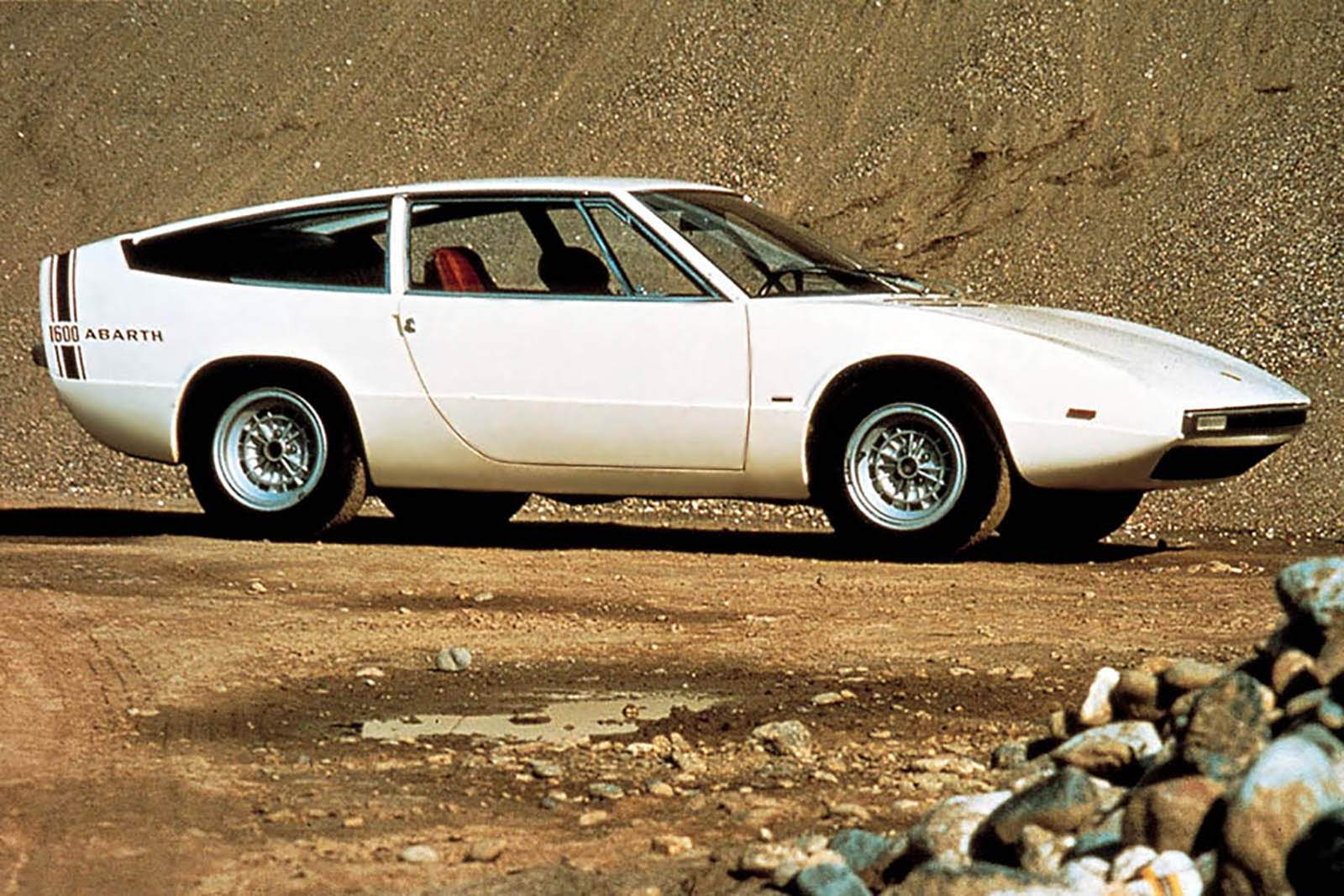 1969 FIAT ABARTH 1600GT ITALDESIGN|アバルトの歴史を刻んだモデル No.046