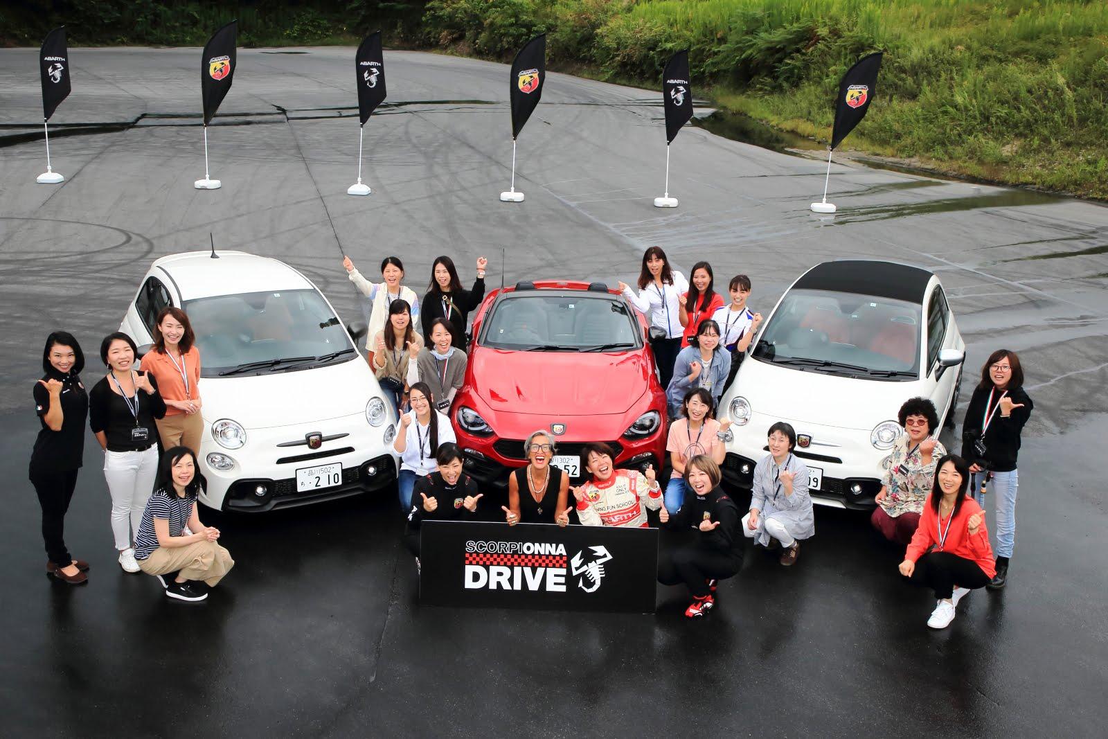 第2回 Scorpionna Drive for Woman 中部・近畿・中国地方の女性たちが名阪スポーツランドに集結