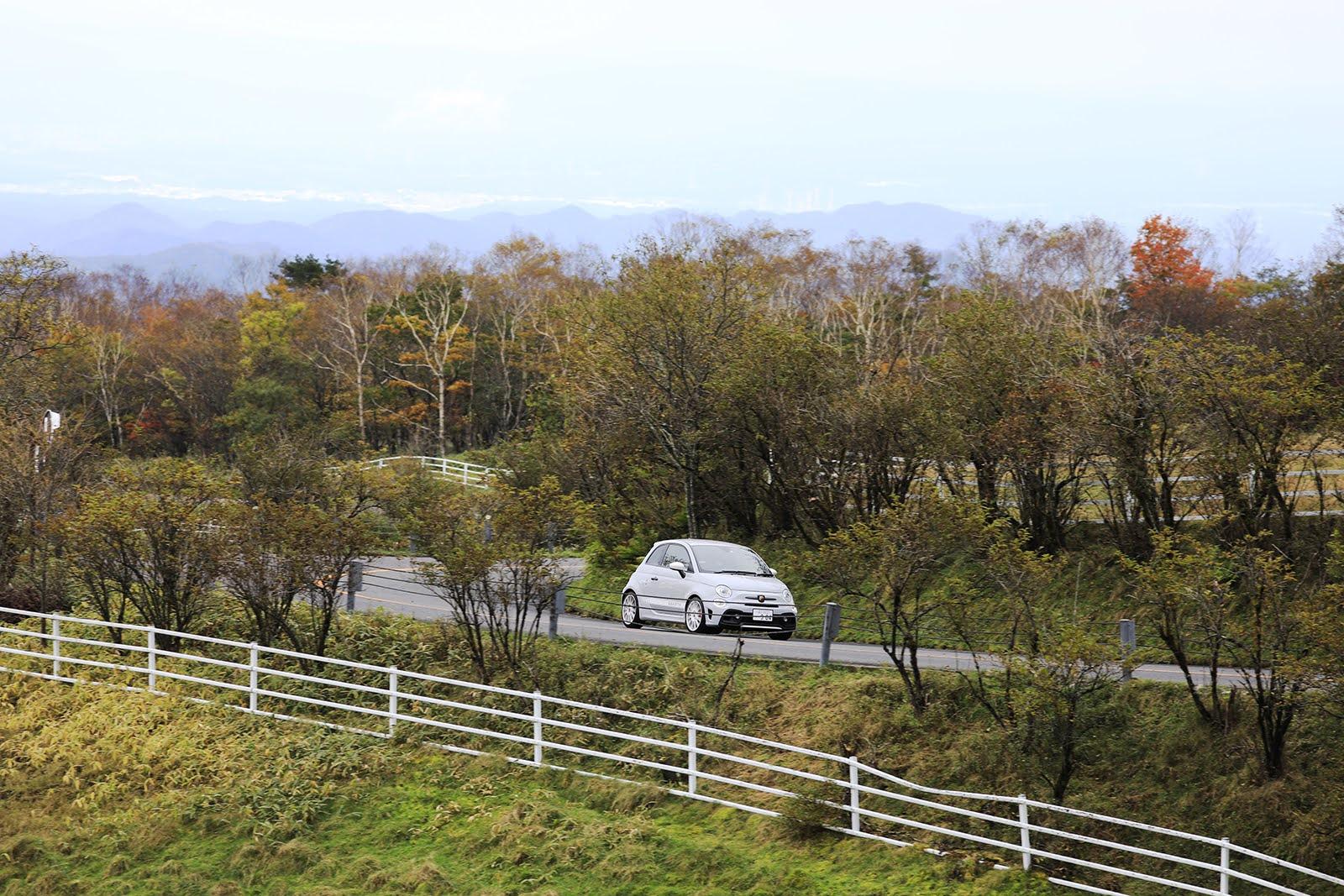 アバルトで走りたいドライブルート【紅葉狩りにもおすすめ 霧降高原道路(栃木県)】
